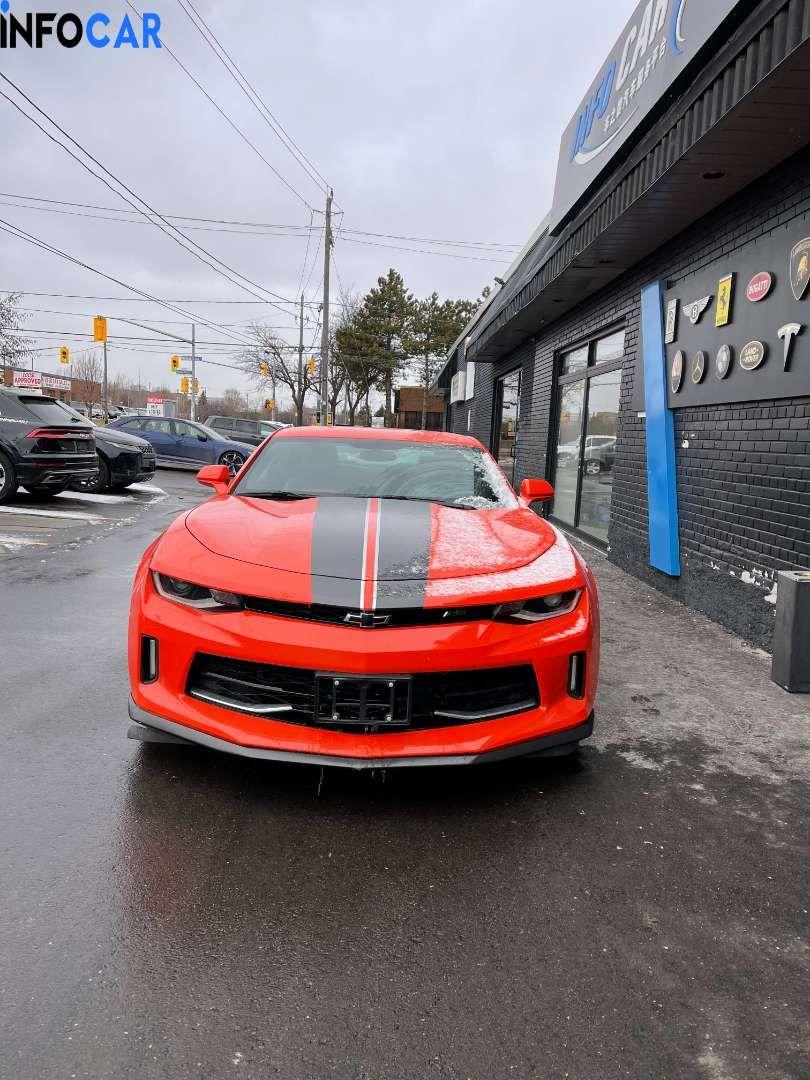 2018 Chevrolet Camaro 50周年纪念版 - INFOCAR - Toronto's Most Comprehensive New and Used Auto Trading Platform