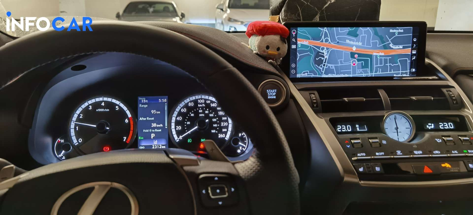 2020 Lexus NX 300 F-sport 3 - INFOCAR - Toronto's Most Comprehensive New and Used Auto Trading Platform