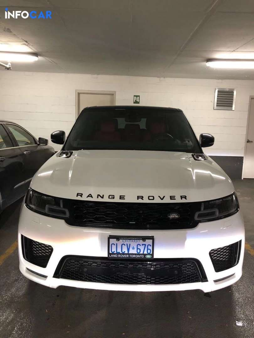 2020 Land Rover Range Rover Sport supercharged V8 - INFOCAR - Toronto's Most Comprehensive New and Used Auto Trading Platform