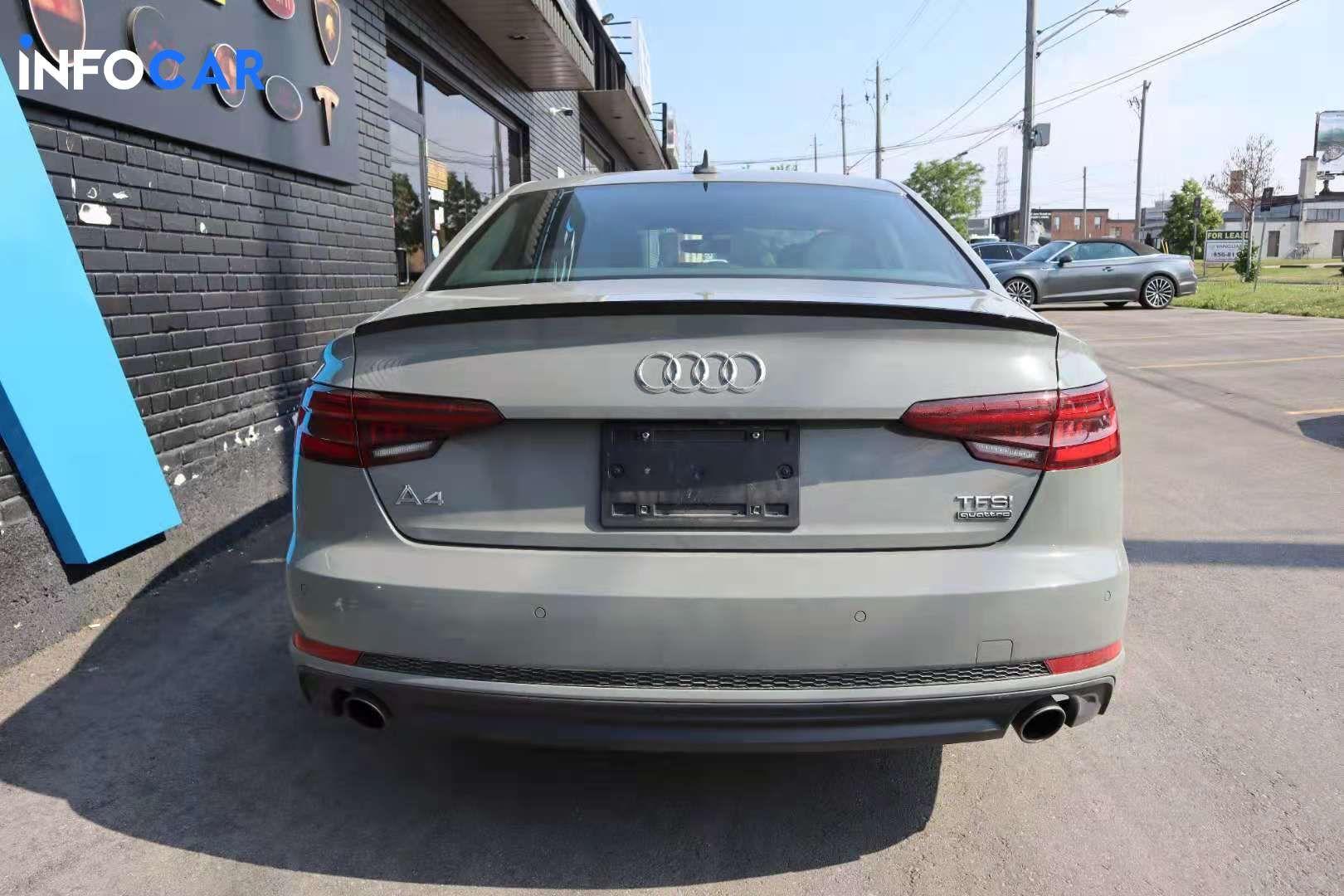 2018 Audi A4 prgressive - INFOCAR - Toronto's Most Comprehensive New and Used Auto Trading Platform