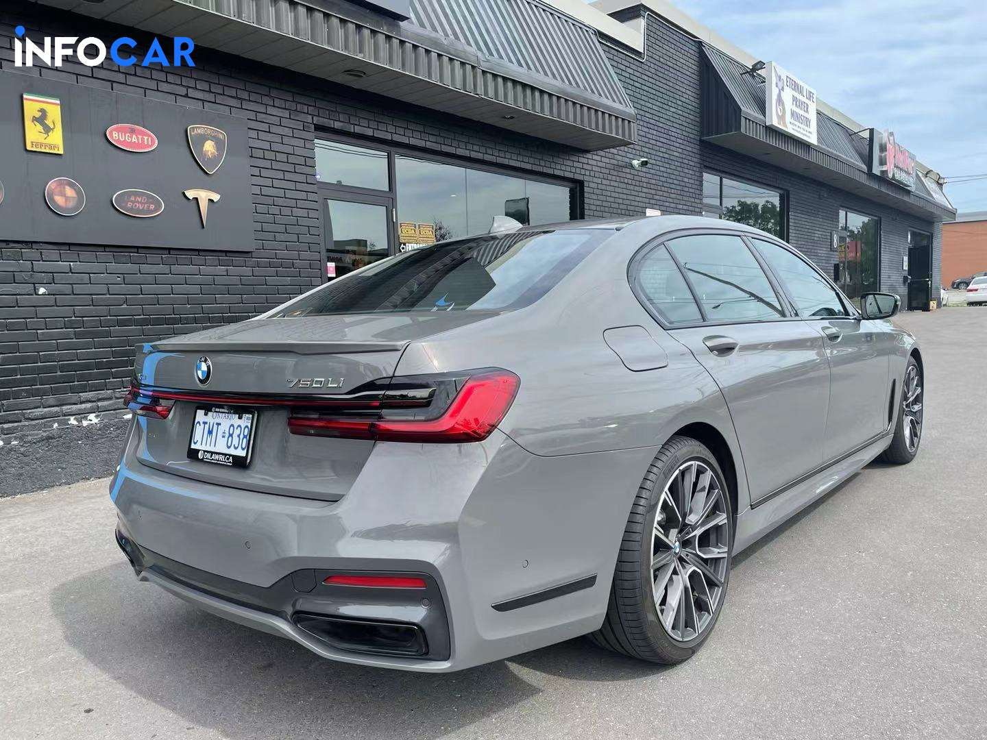 2020 BMW 7-Series 750 - INFOCAR - Toronto's Most Comprehensive New and Used Auto Trading Platform