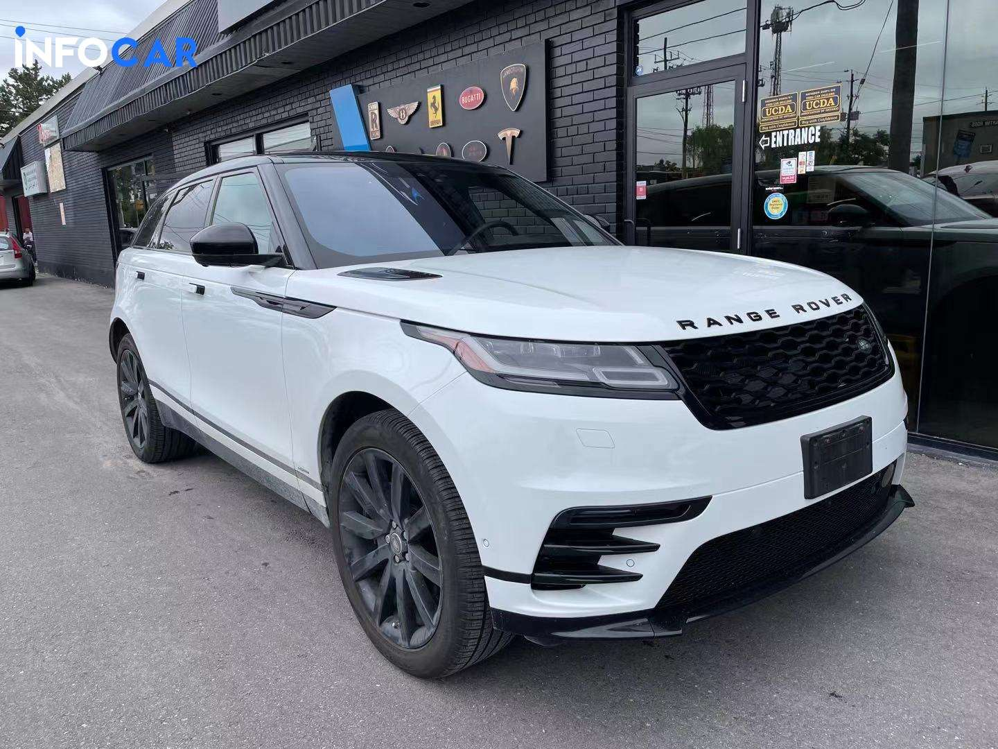 2019 Land Rover Range Rover Velar R—Dynamic - INFOCAR - Toronto's Most Comprehensive New and Used Auto Trading Platform