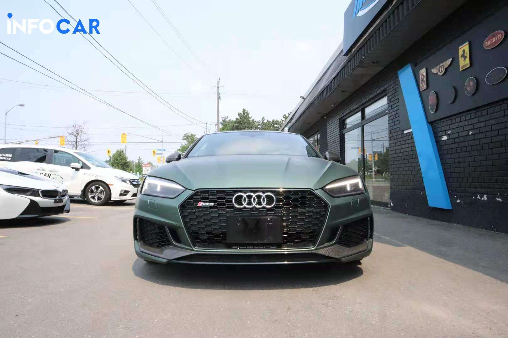 2018 Audi RS 5 coupe - INFOCAR - Toronto's Most Comprehensive New and Used Auto Trading Platform