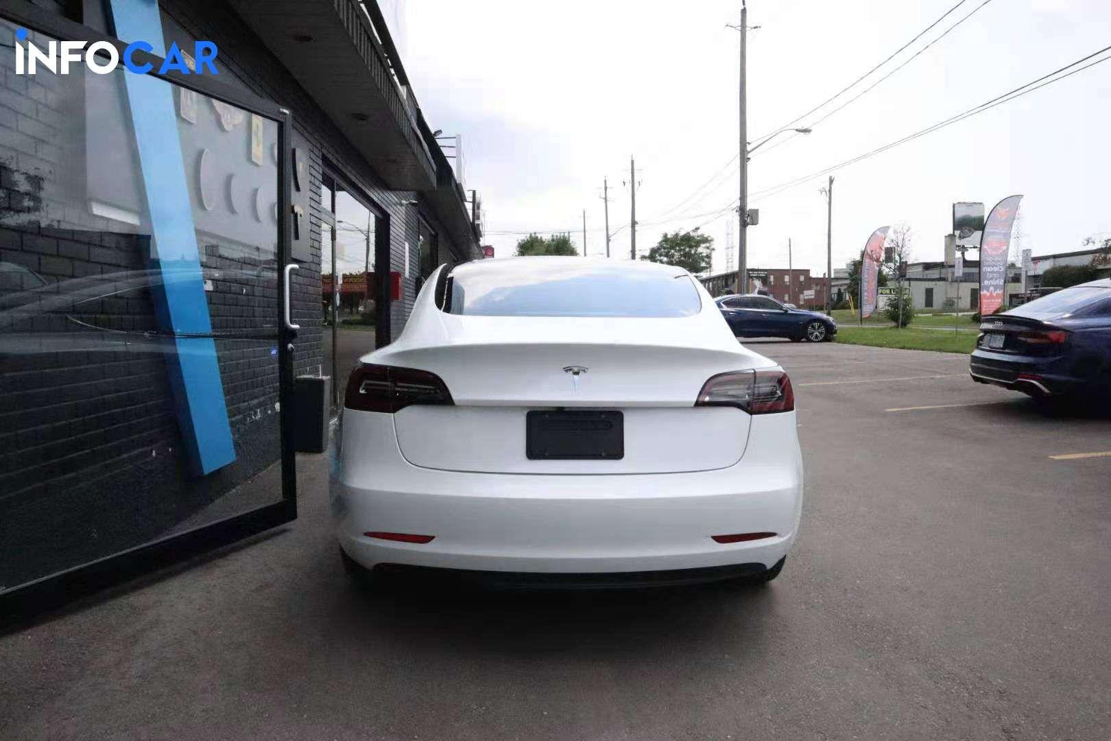 2019 Tesla Model 3  stand range plus - INFOCAR - Toronto's Most Comprehensive New and Used Auto Trading Platform