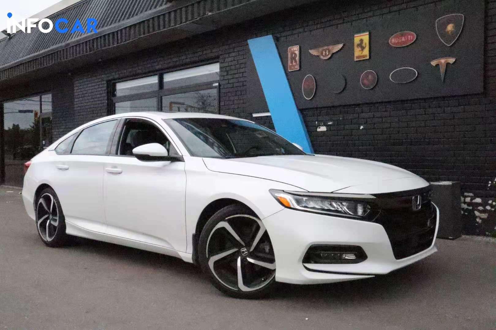 2019 Honda Accord sport  - INFOCAR - Toronto's Most Comprehensive New and Used Auto Trading Platform