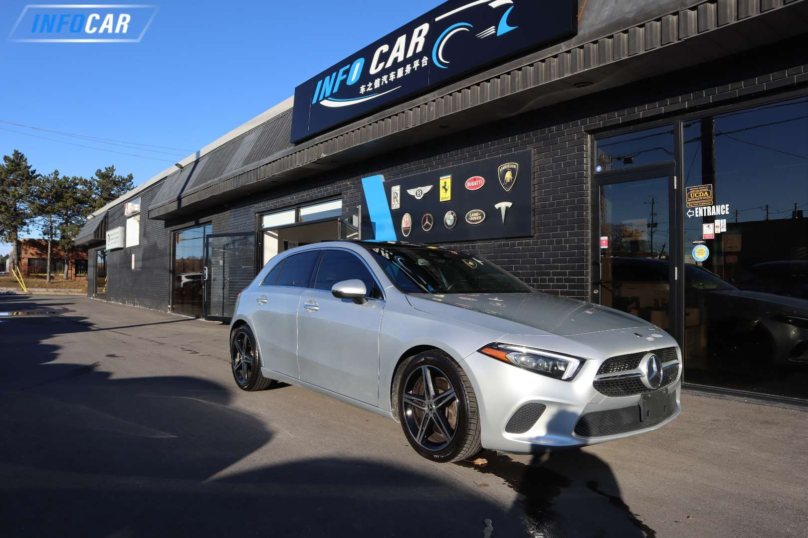 2019 Mercedes-Benz A-Class A250 HATCH BACK - INFOCAR - Toronto's Most Comprehensive New and Used Auto Trading Platform