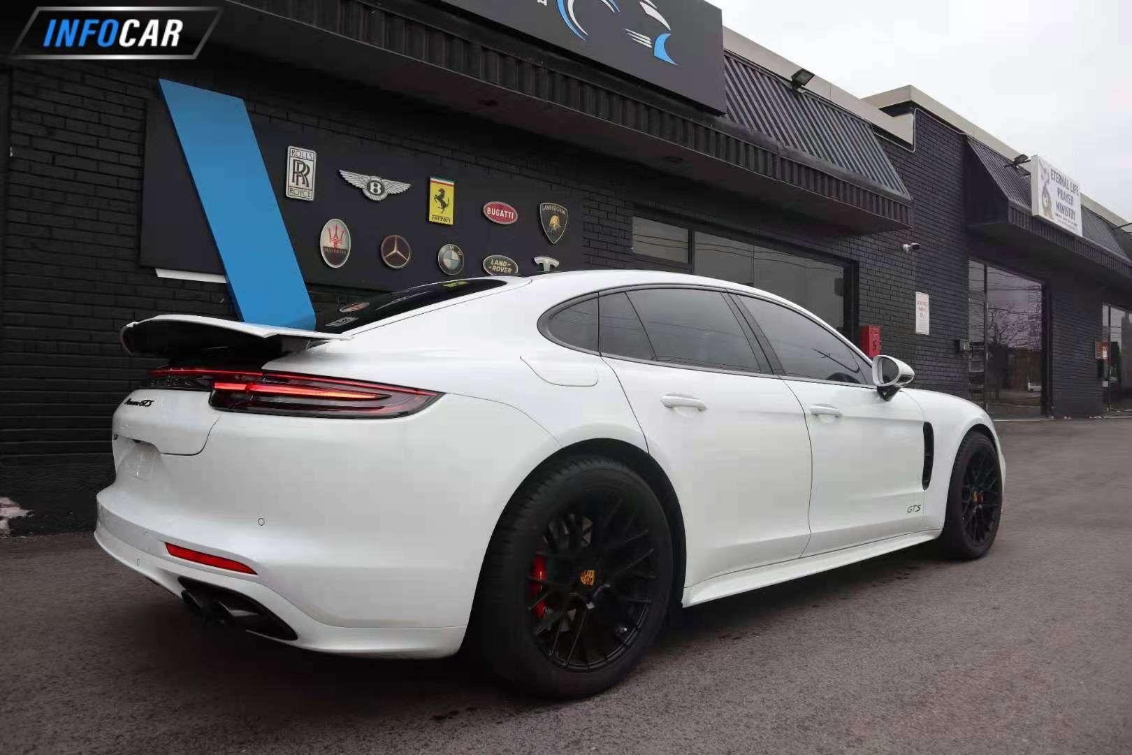 2019 Porsche Panamera Panamera GTS - INFOCAR - Toronto's Most Comprehensive New and Used Auto Trading Platform