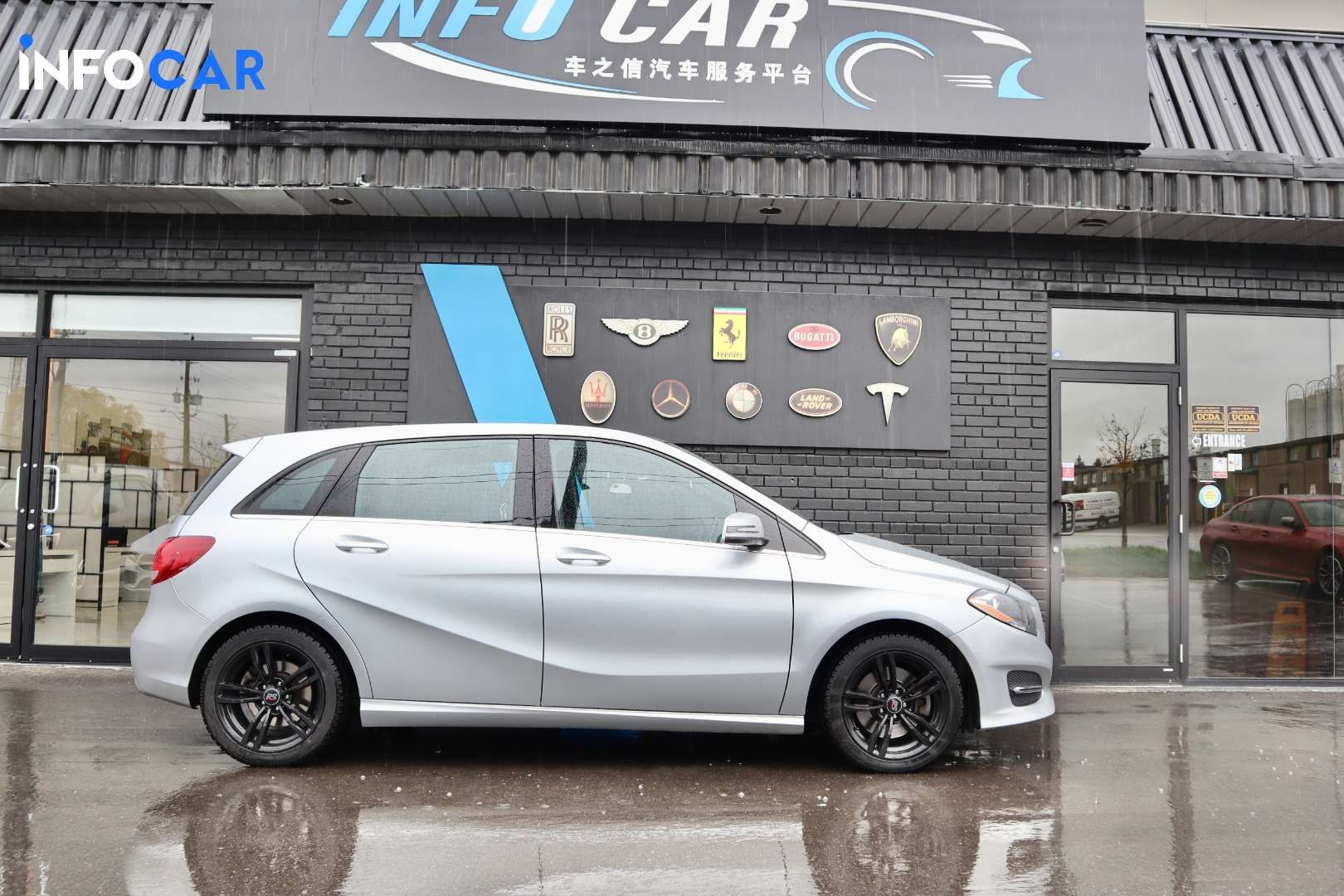 2015 Mercedes-Benz B-Class B250 4MATIC - INFOCAR - Toronto's Most Comprehensive New and Used Auto Trading Platform