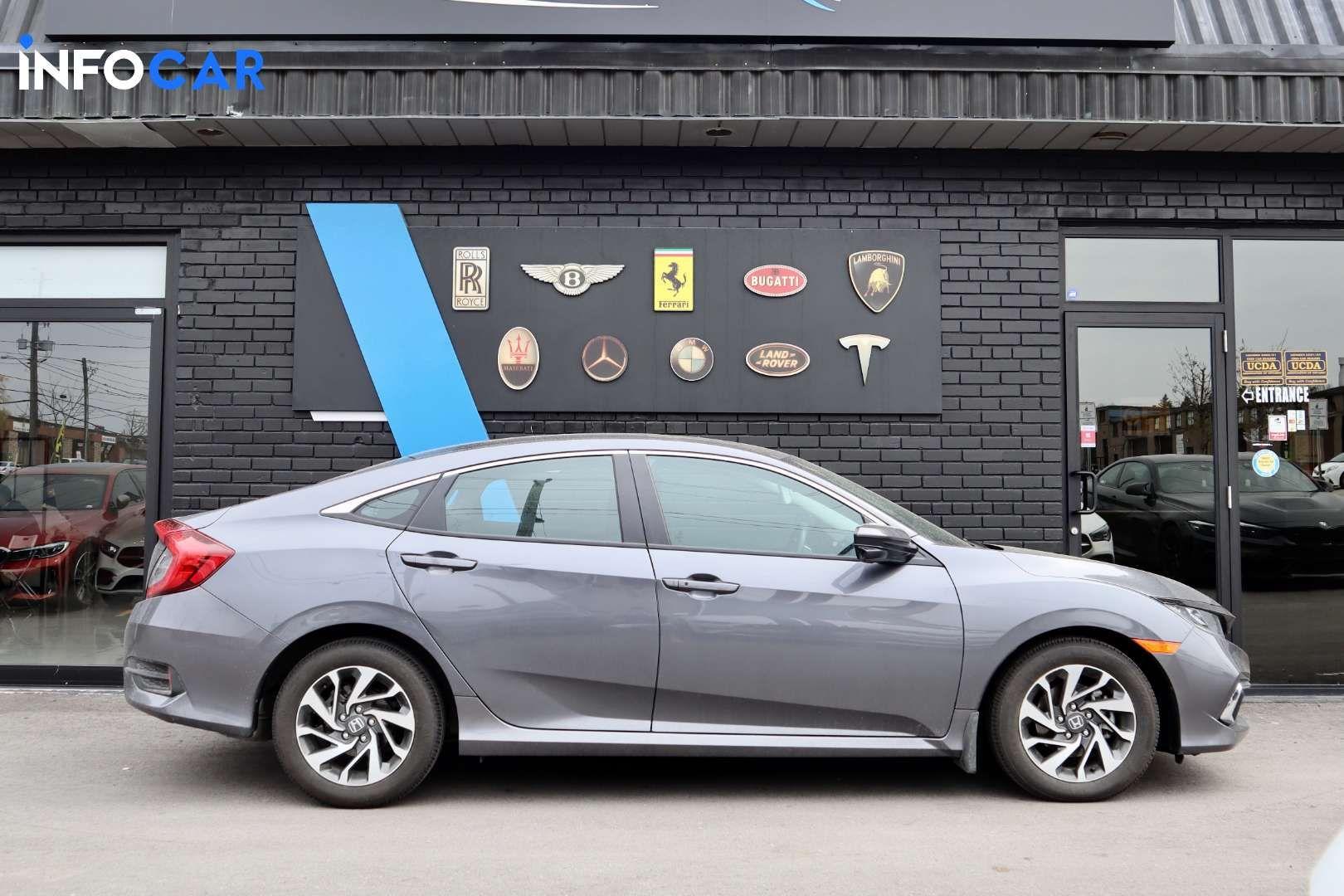 2019 Honda Civic EX - INFOCAR - Toronto's Most Comprehensive New and Used Auto Trading Platform