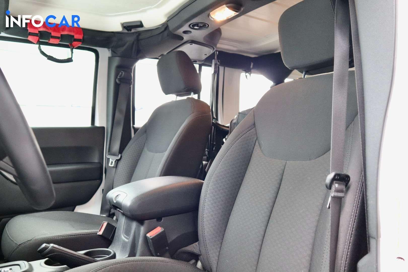 2018 Jeep Wrangler Unlimit Sport JK - INFOCAR - Toronto's Most Comprehensive New and Used Auto Trading Platform