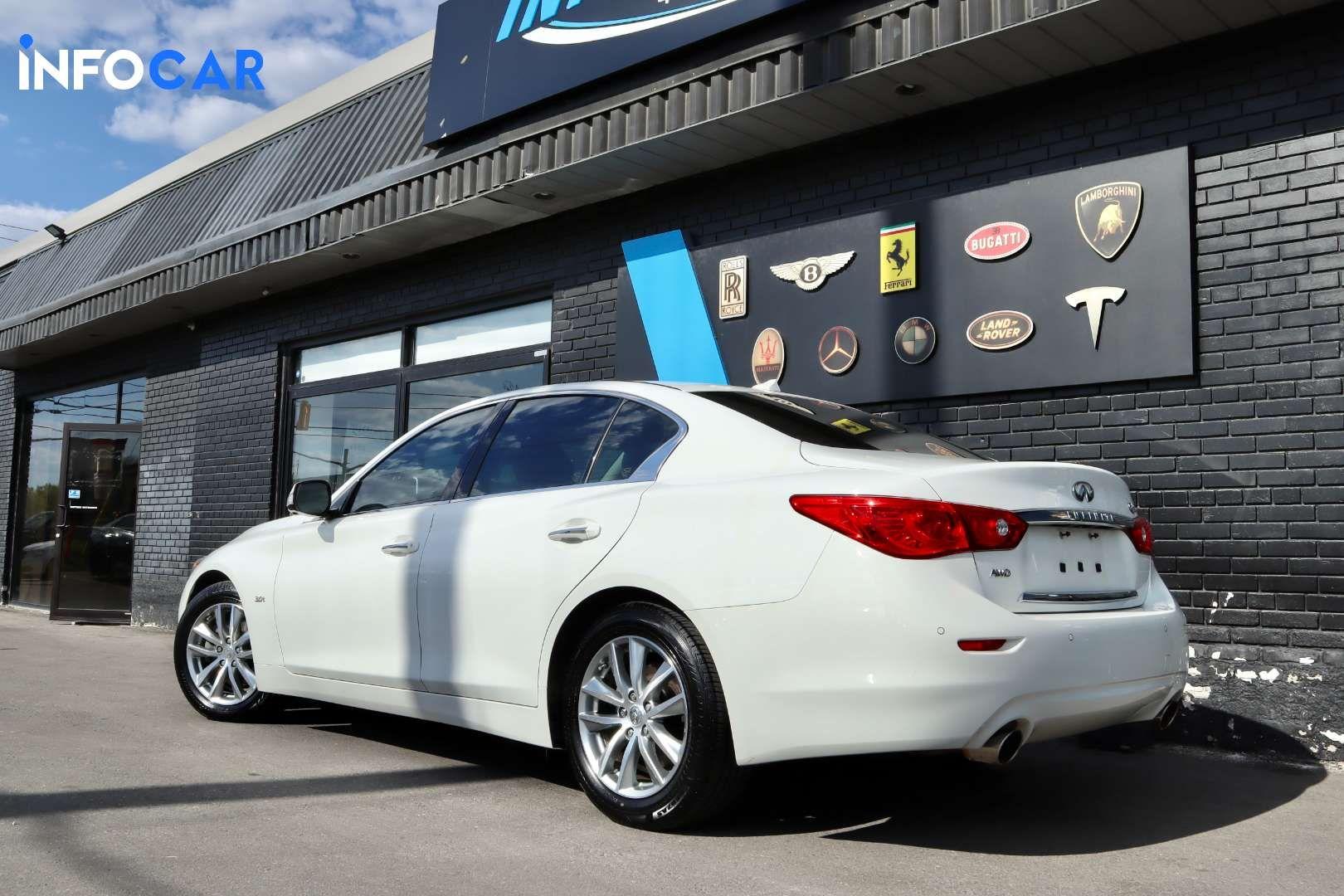 2017 Infiniti Q50 Premium - INFOCAR - Toronto's Most Comprehensive New and Used Auto Trading Platform