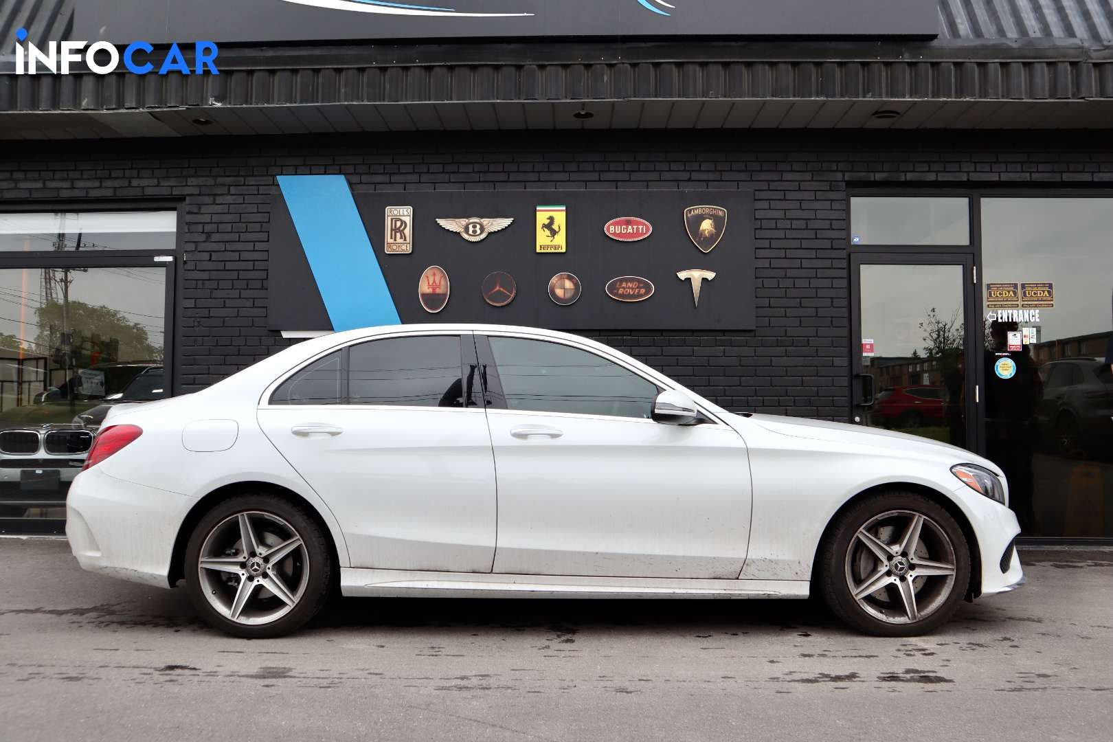 2018 Mercedes-Benz C-Class C300 4MATIC - INFOCAR - Toronto's Most Comprehensive New and Used Auto Trading Platform