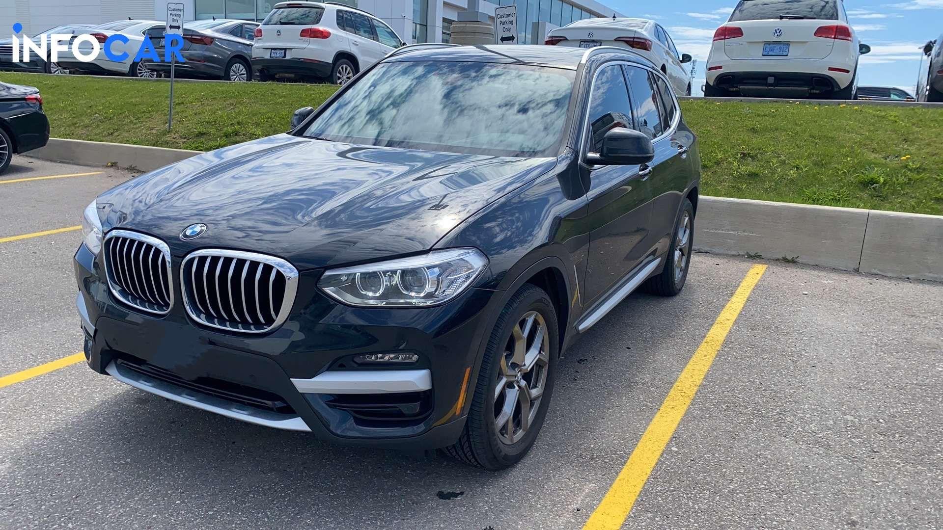 2021 BMW X3 30i - INFOCAR - Toronto's Most Comprehensive New and Used Auto Trading Platform