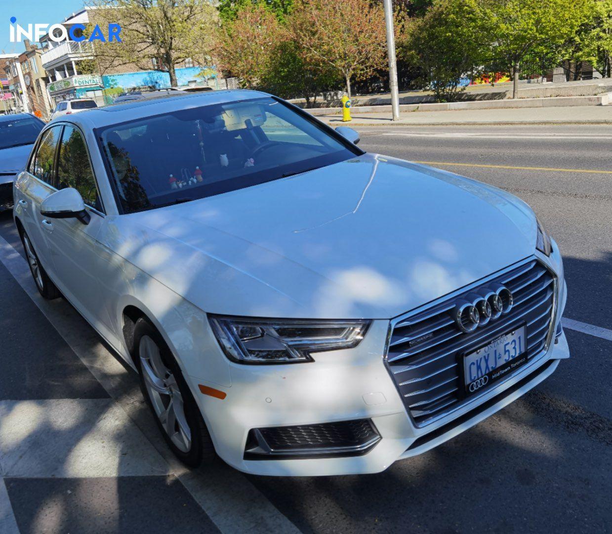 2019 Audi A4 progressiv - INFOCAR - Toronto's Most Comprehensive New and Used Auto Trading Platform