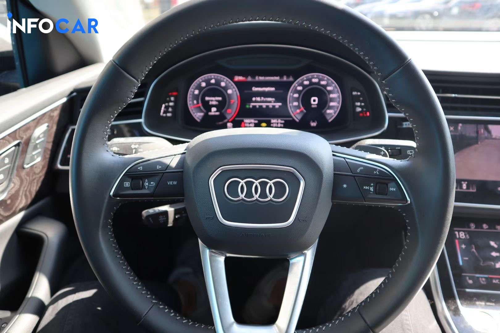 2019 Audi Q8 55TFSI Quattro - INFOCAR - Toronto's Most Comprehensive New and Used Auto Trading Platform