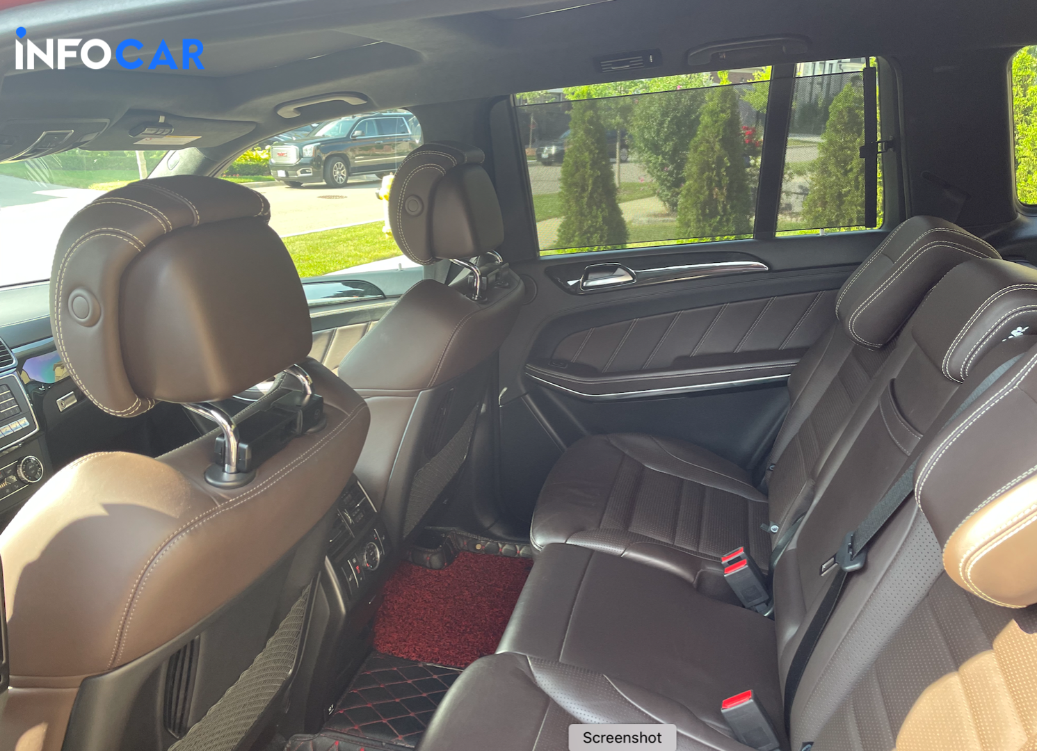 2016 Mercedes-Benz GLS-Class 63 AMG - INFOCAR - Toronto's Most Comprehensive New and Used Auto Trading Platform