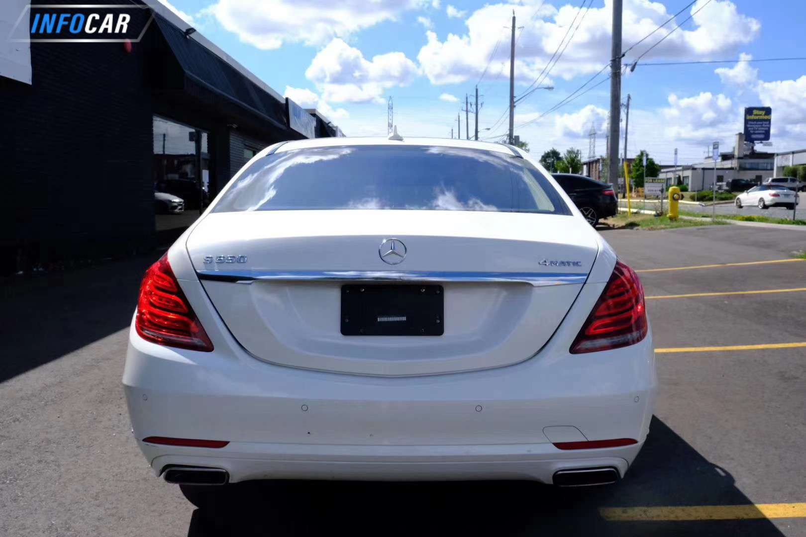 2017 Mercedes-Benz S-Class S550 - INFOCAR - Toronto's Most Comprehensive New and Used Auto Trading Platform