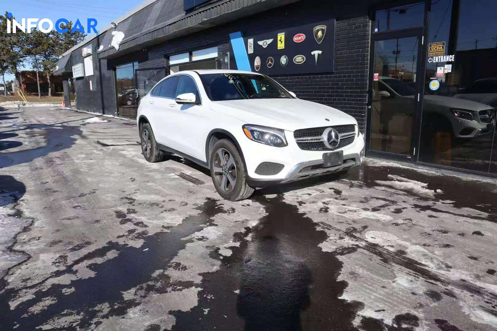 2019 Mercedes-Benz GLC-Class Coupe 300 - INFOCAR - Toronto's Most Comprehensive New and Used Auto Trading Platform
