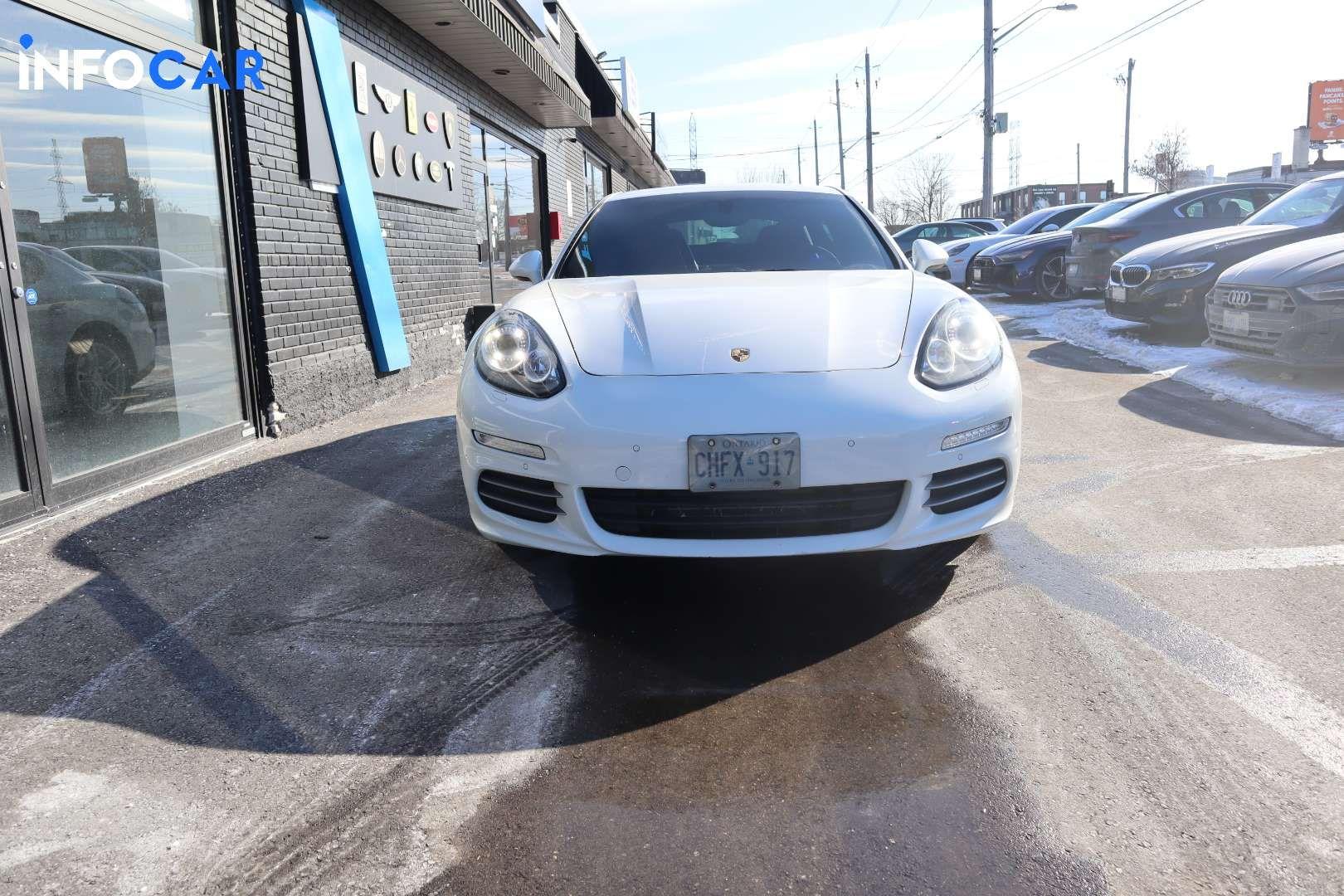 2015 Porsche Panamera 4 - INFOCAR - Toronto's Most Comprehensive New and Used Auto Trading Platform