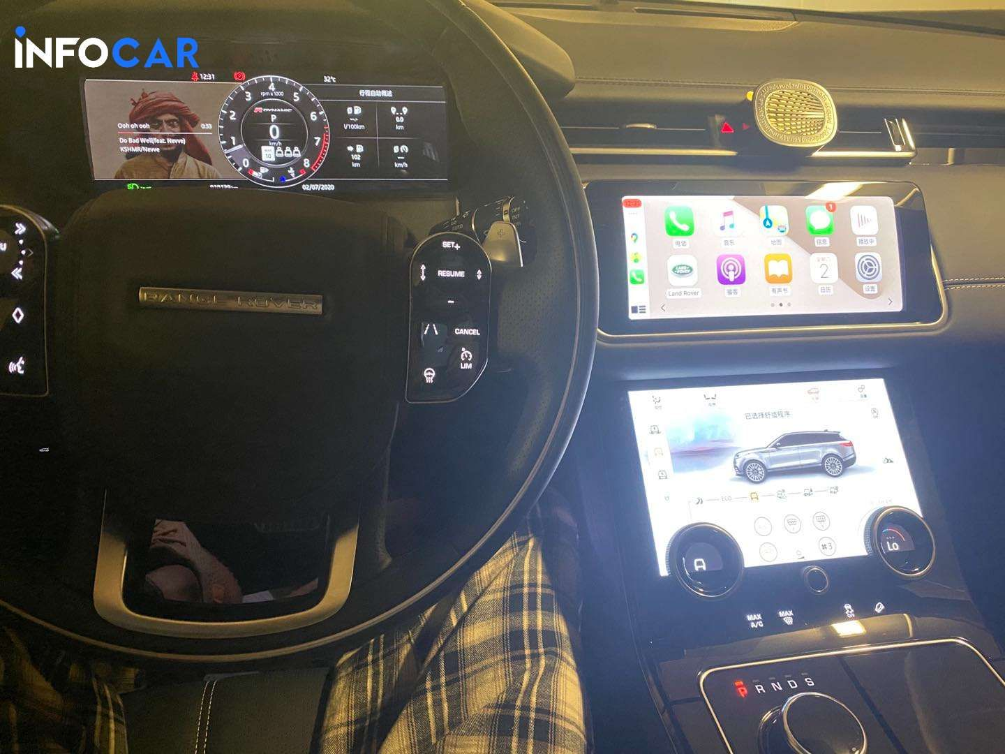 2019 Land Rover Range Rover Velar P380 HSE - INFOCAR - Toronto's Most Comprehensive New and Used Auto Trading Platform