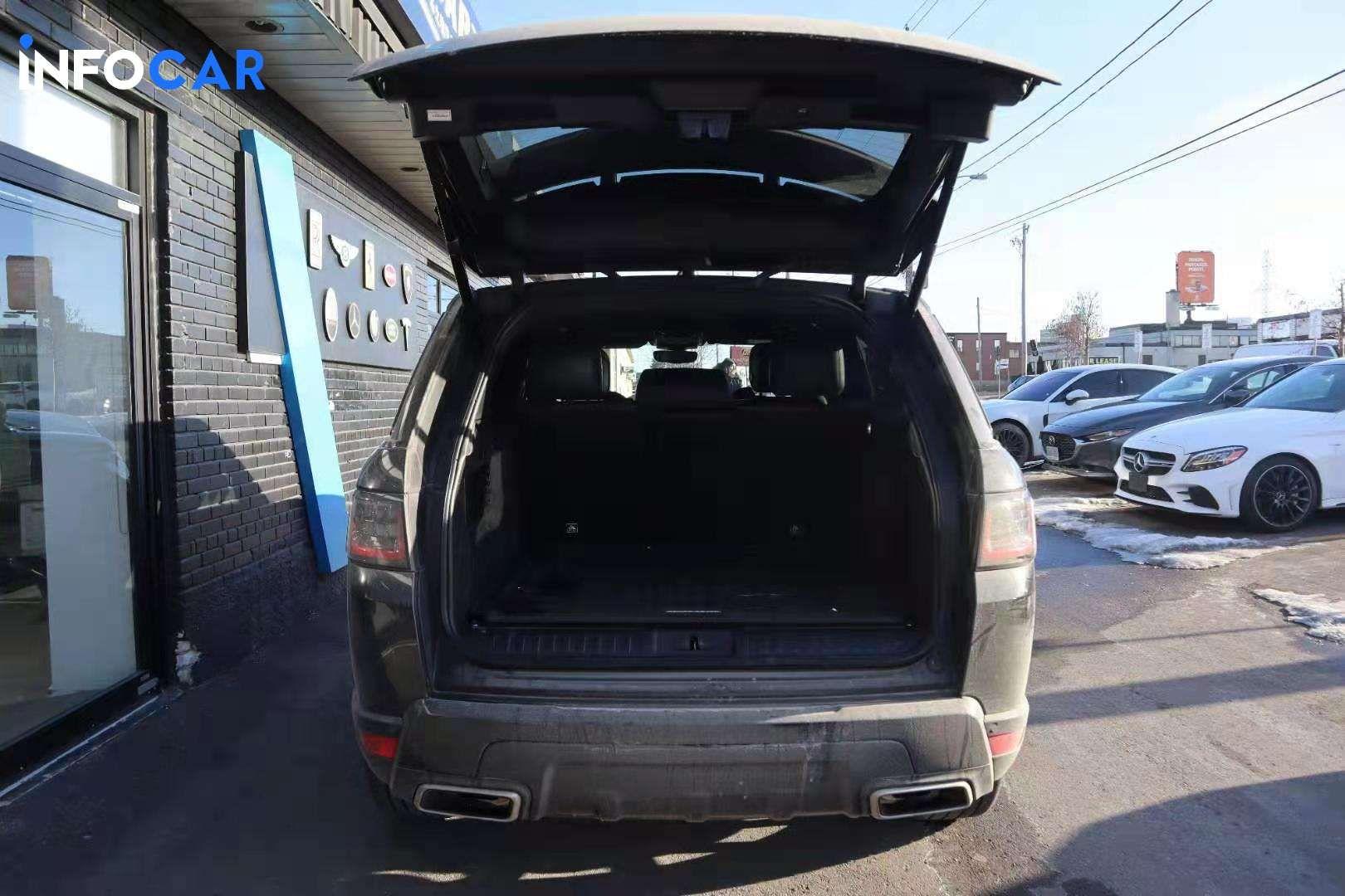 2020 Land Rover Range Rover Sport V8 SC DYNAMIC - INFOCAR - Toronto's Most Comprehensive New and Used Auto Trading Platform