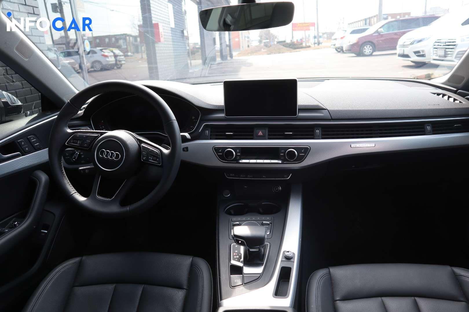 2019 Audi A5 SPORTBACK - INFOCAR - Toronto's Most Comprehensive New and Used Auto Trading Platform