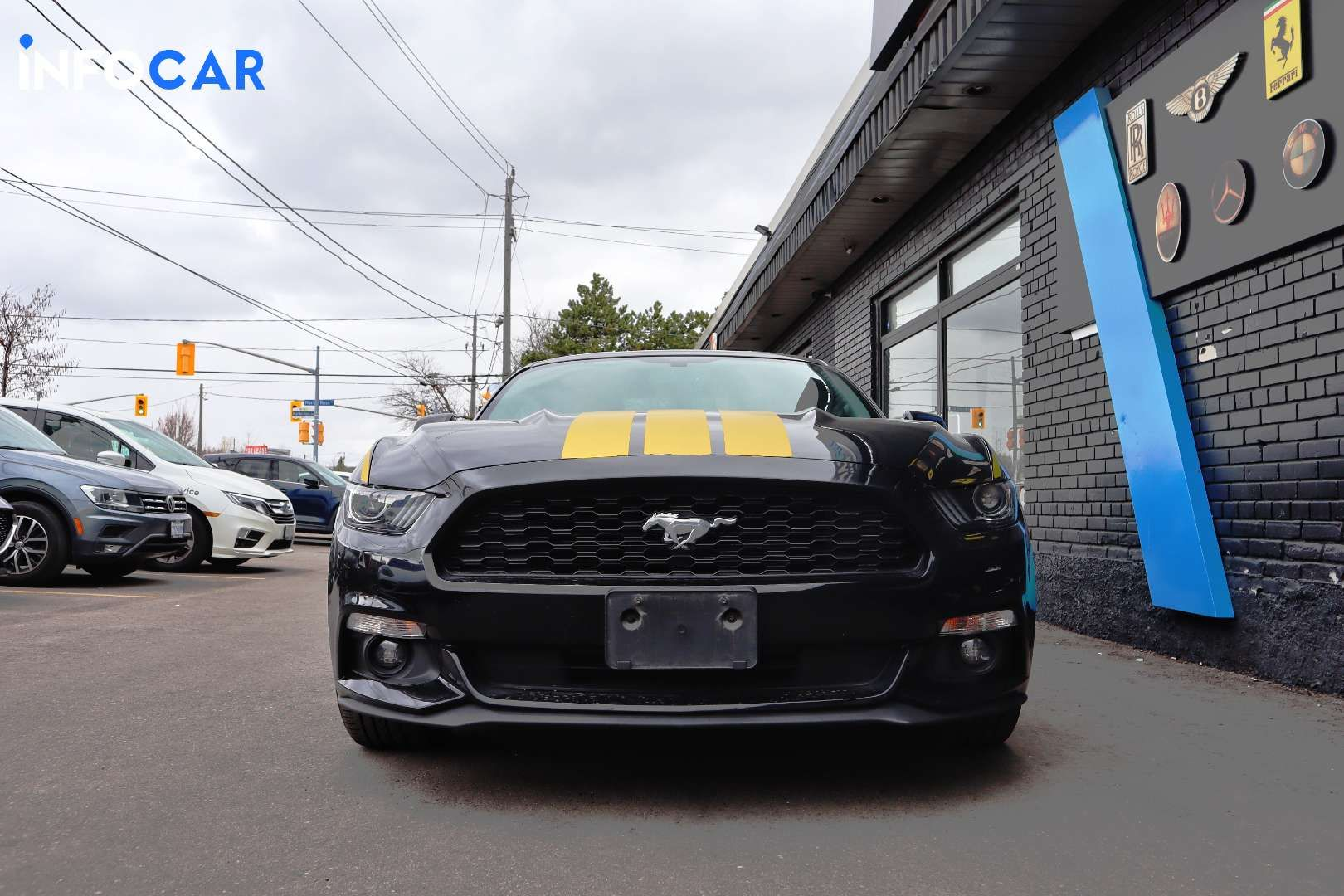 2017 Ford Mustang ECOBOOST - INFOCAR - Toronto's Most Comprehensive New and Used Auto Trading Platform