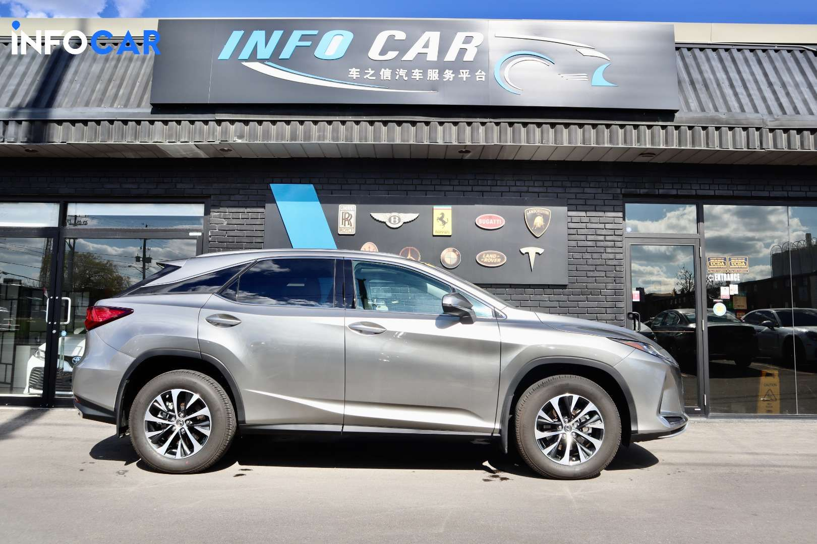 2020 Lexus RX 350 null - INFOCAR - Toronto's Most Comprehensive New and Used Auto Trading Platform