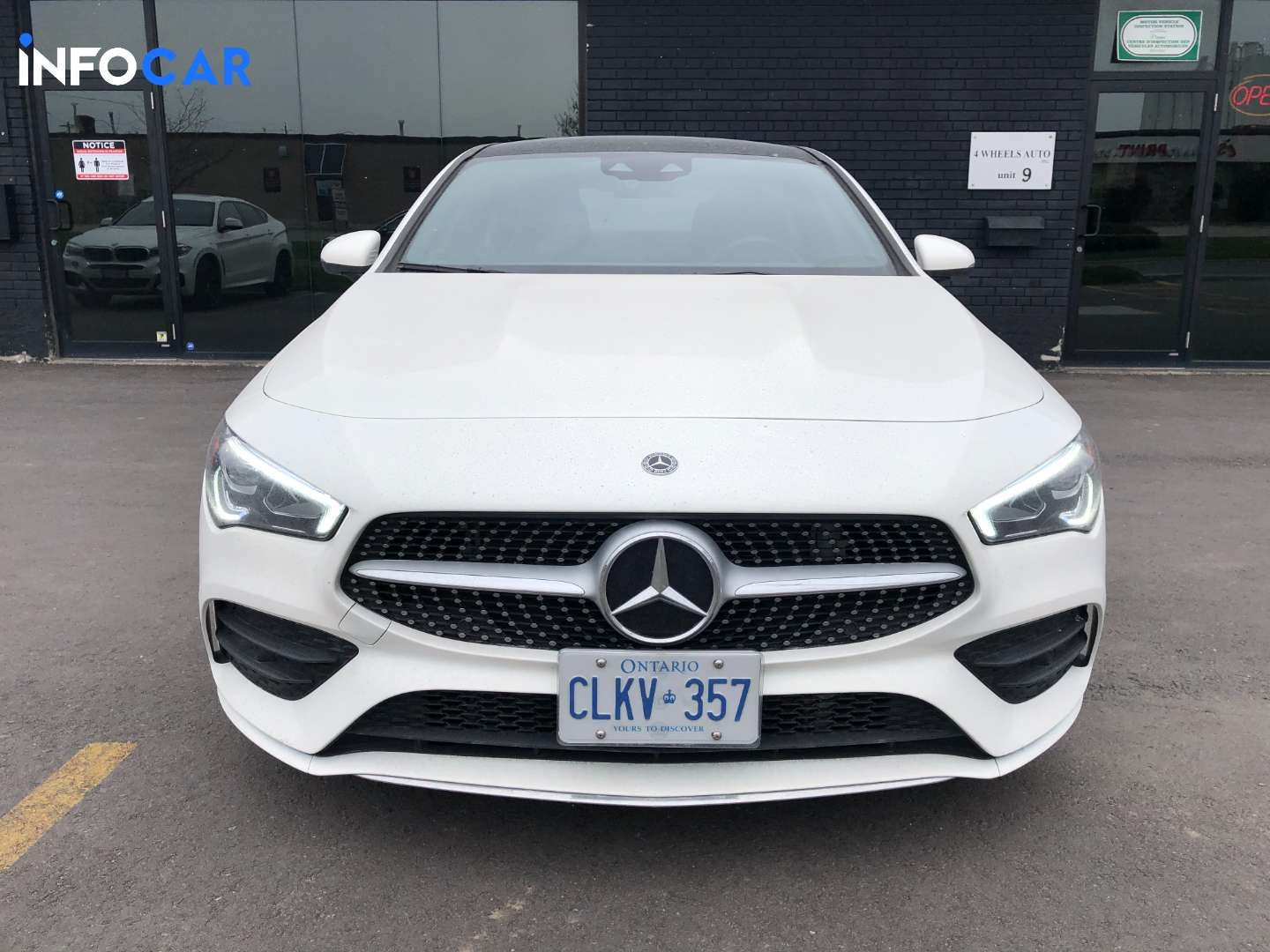 2020 Mercedes-Benz CLA-Class 250 - INFOCAR - Toronto's Most Comprehensive New and Used Auto Trading Platform
