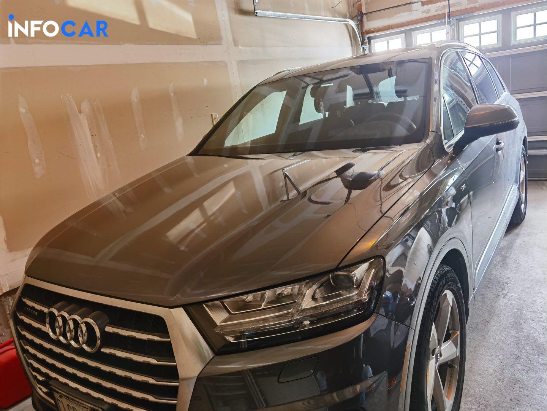 2018 Audi Q7 technik - INFOCAR - Toronto's Most Comprehensive New and Used Auto Trading Platform