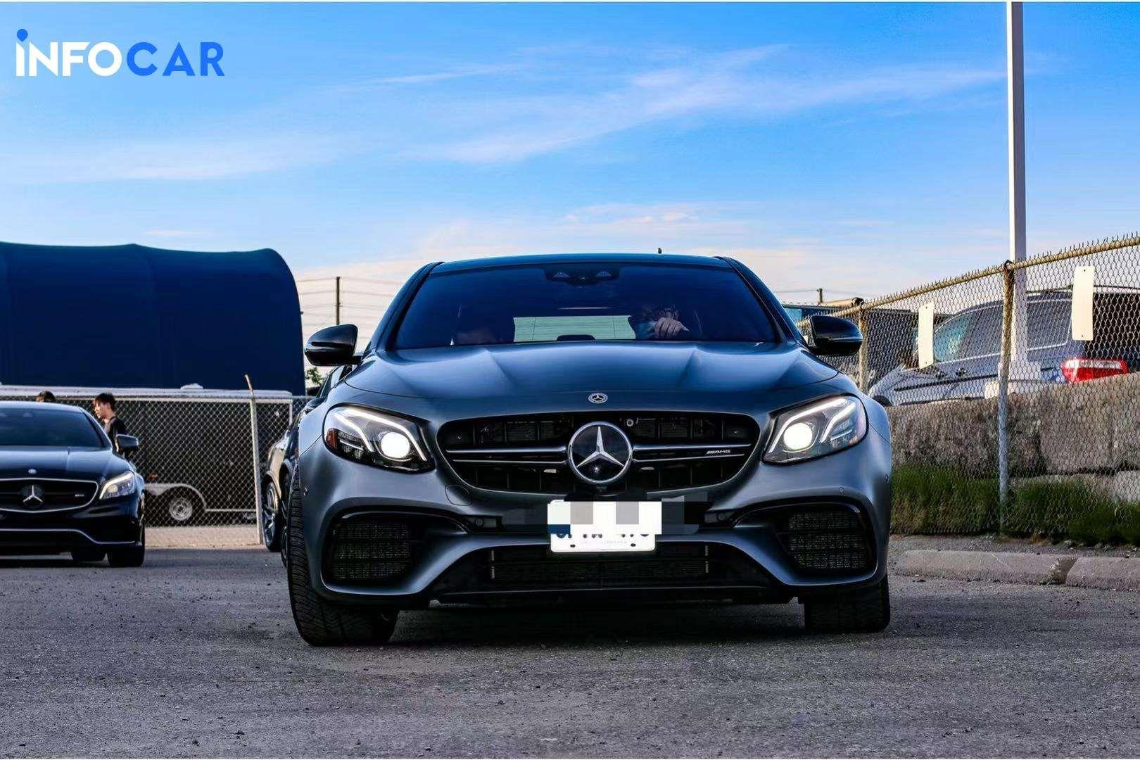 2019 Mercedes-Benz E-Class E63S - INFOCAR - Toronto's Most Comprehensive New and Used Auto Trading Platform