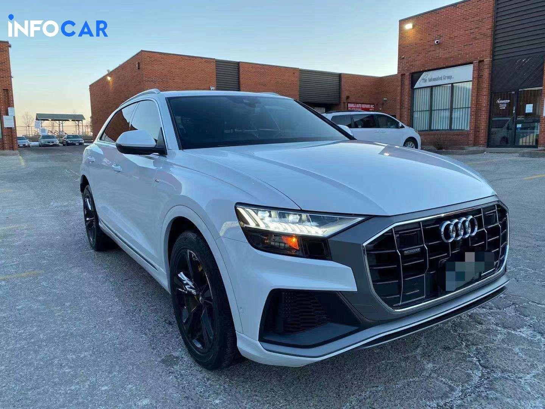 2019 Audi Q8 technik - INFOCAR - Toronto's Most Comprehensive New and Used Auto Trading Platform